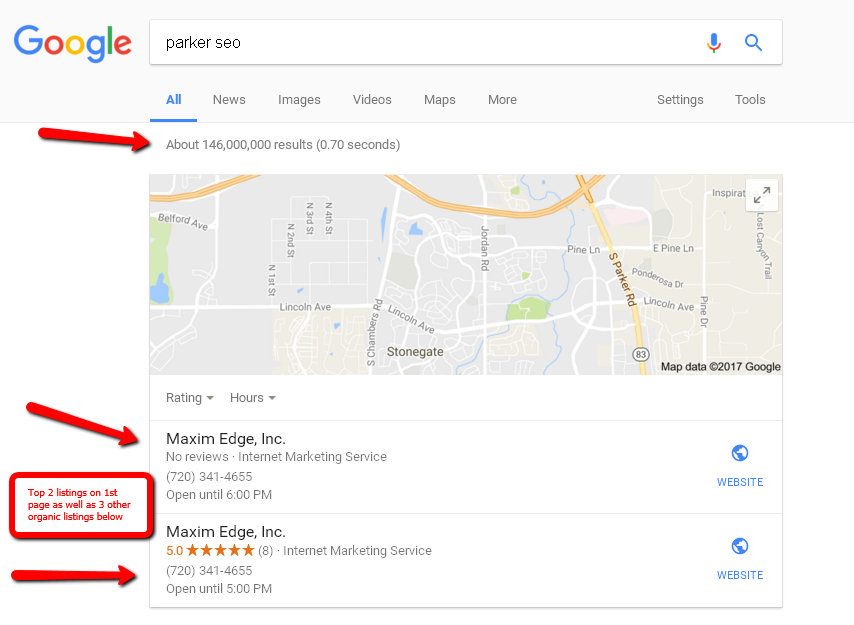 denver local seo